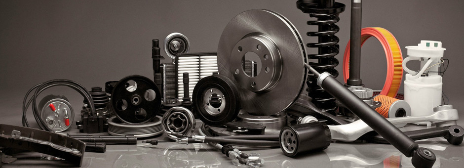 Spare car parts and automotive equipment